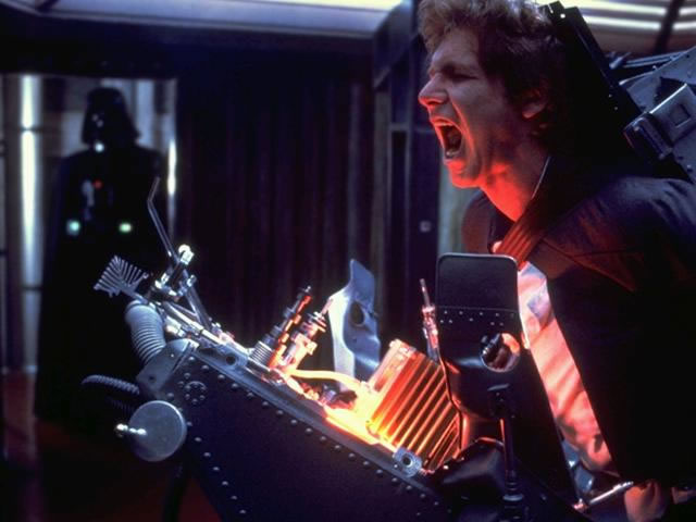 6. THE EMPIRE STRIKES BACK (Han Solo's Torture in Cloud City)