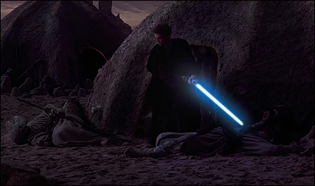 9. ATTACK OF THE CLONES (Slaughter of the Tuskin Raiders)