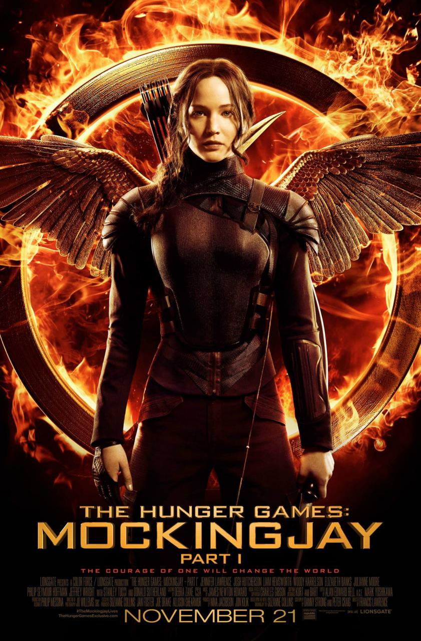 #2 The Hunger Games: Mockingjay - Part 1 (Lionsgate)