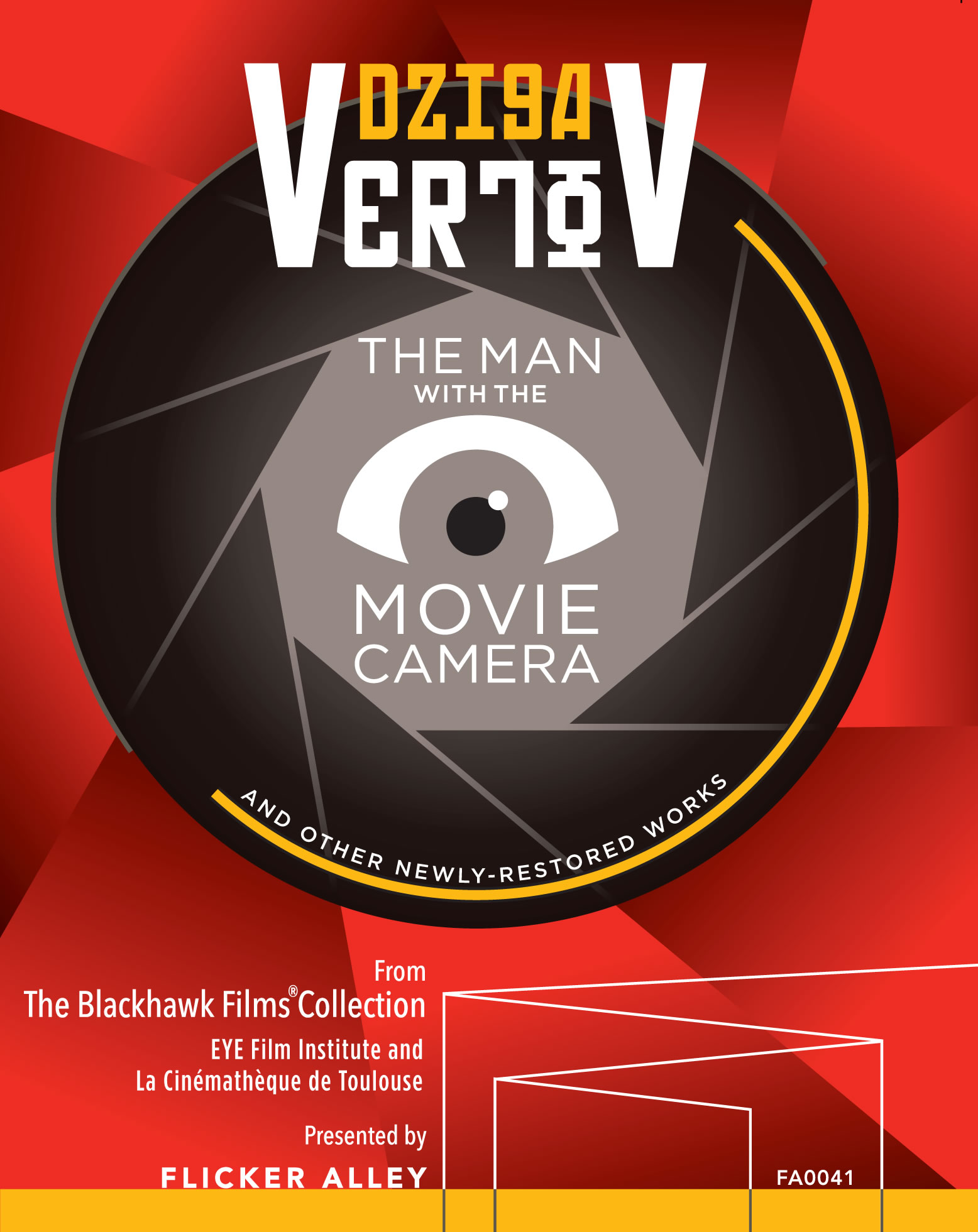Dziga Vertov: The Man with the Movie Camera and Other Newly-Restored Works