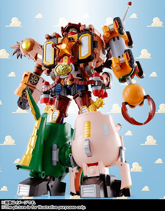 Toy Story Combination Woody Robo Sheriff Star