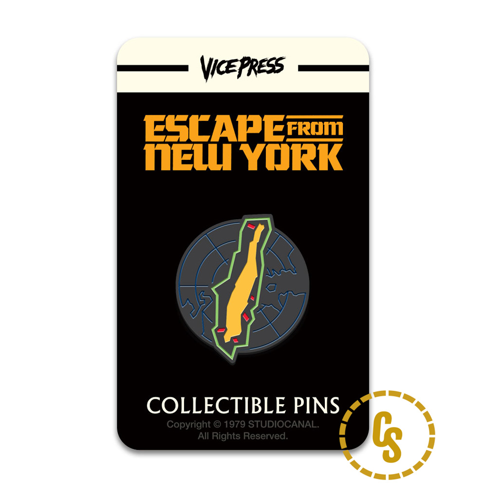 Florey, Escape From New York Pin