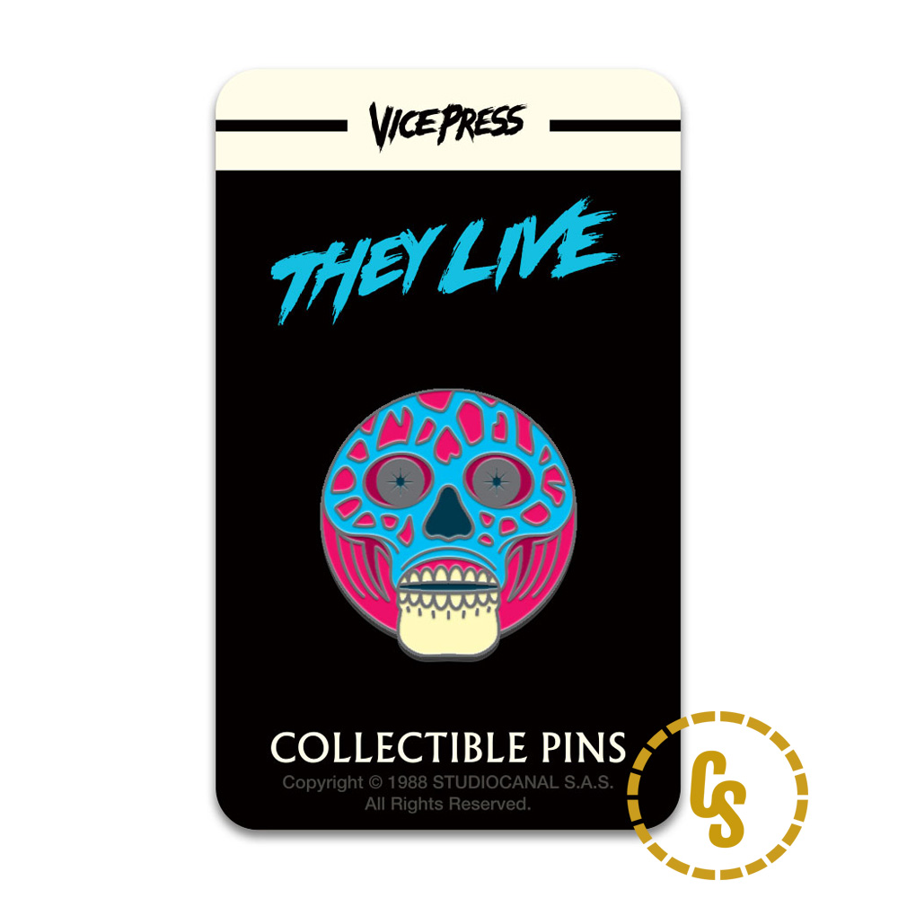 Florey, They Live Pin