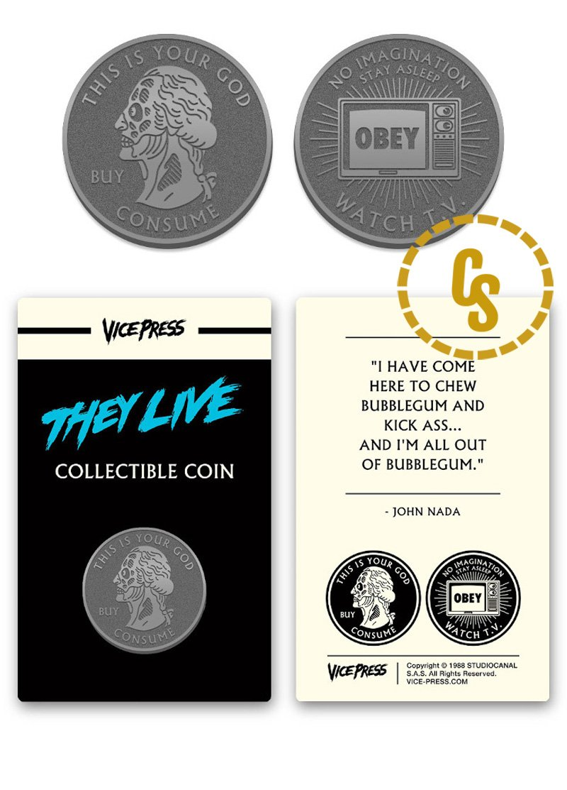 Florey, They Live Coin