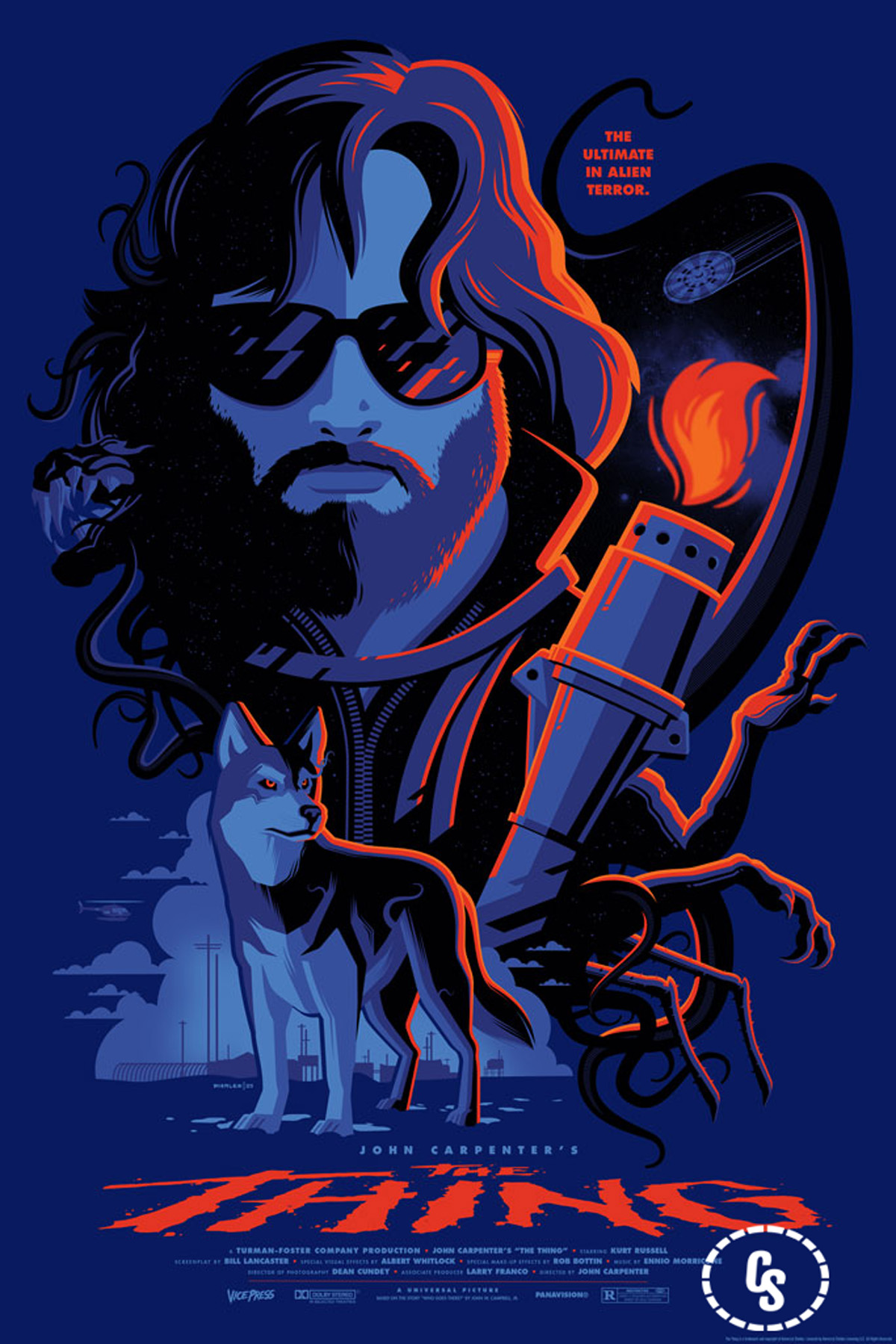 Tom Whalen, The Thing (variant)