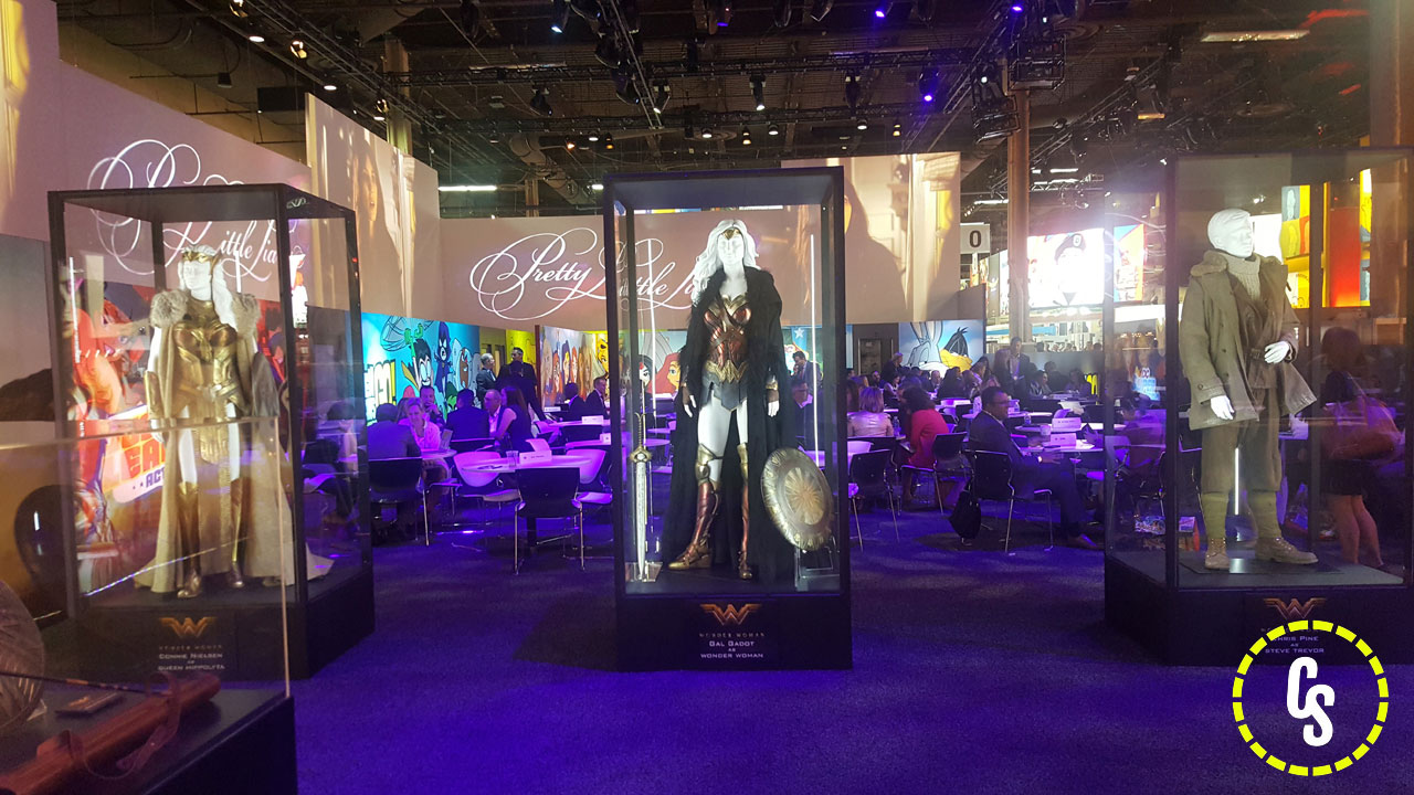 Wonder Woman Costume and Props