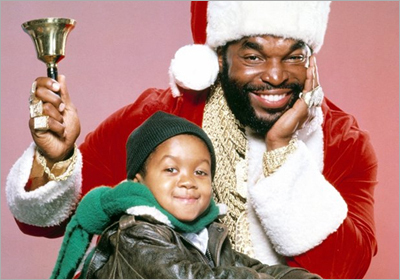 Mr. T and Emmanuel Lewis in A Christmas Dream